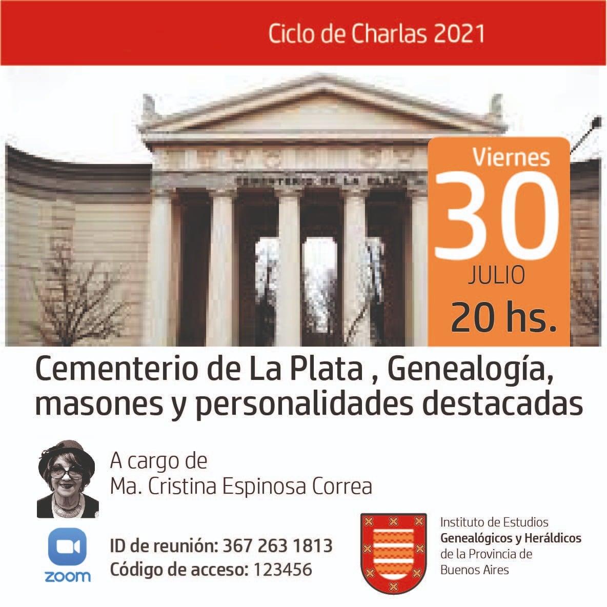 Cementerio de La Plata, Genealogía, masones y personalidades destacadas
